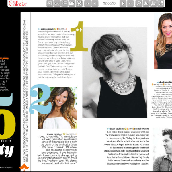 Colorist Magazine - 30 under 30