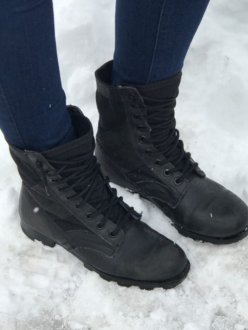 DIY Military Combat Snow Boots Copy – Suite Hairstyles